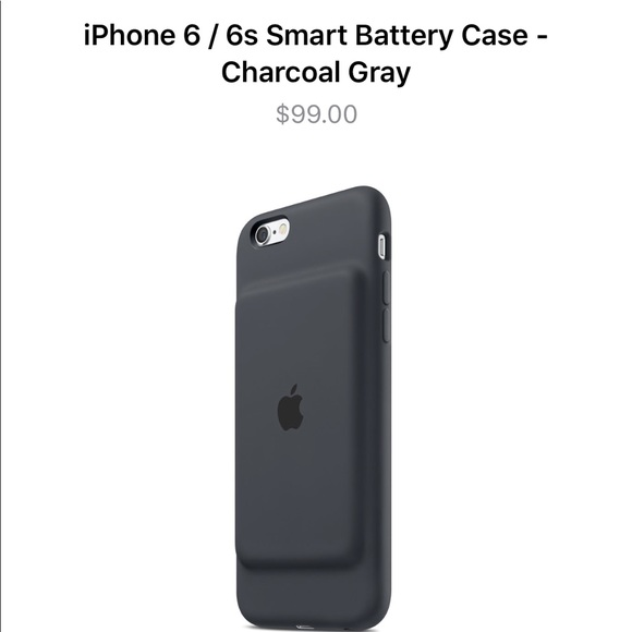 low priced f26af de5a3 iPhone 6 smart battery case